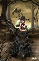 Guild Wars 2 Necromancer by JamilSC11