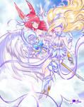 Xayah And Janna Celestial