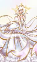 Elementalist Lux Long Dress version by JamilSC11
