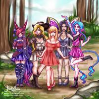 League of Fashion aww by JamilSC11