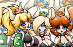 Bowsette Three Version