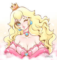 Swee Princess Peach by JamilSC11