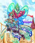 Battle Queen Janna by JamilSC11