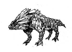 Diamond Dog by vykk8930