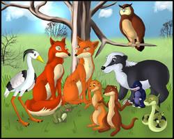The Animals of Farthing Wood by Velvet-Loz