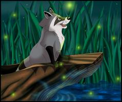 Meeko's voyage by Velvet-Loz