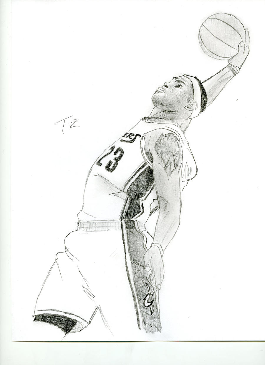 the king lebron james by teddylicious1989 on deviantart