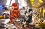 Maria and Lara: Party Crashed
