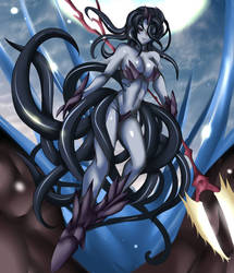 Savage Scylla by Levia-the-Dragon