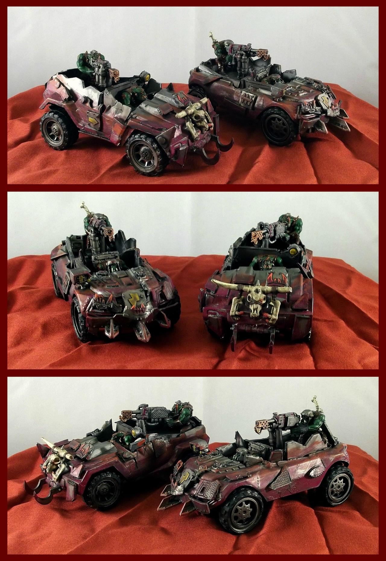 Ork Warbuggy Skorchas by Noveros