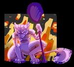 Mewtwo by sad-poptart