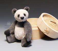 Xiaolongbao Miniature Panda by kaijumama