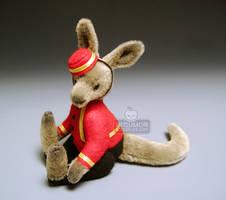 Noboru Miniature Bellhop Sit by kaijumama