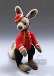 Noboru Miniature Bellhop Front by kaijumama