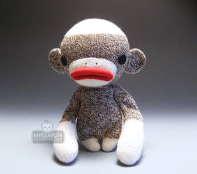 Fugu Urban Sock Monkey :3 by kaijumama