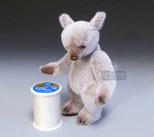 Tiramisu Spirit Bear Size by kaijumama