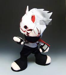 Naruto Anbu Kakashi Fight by kaijumama