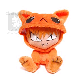 Fruits Basket Kyo Plush Doll by kaijumama
