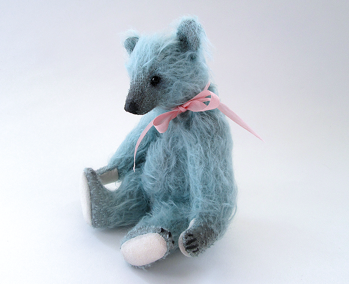 Miniature Antique Style Candy Grizzly Bear by kaijumama