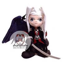 Final Fantasy Sephiroth Plush by kaijumama