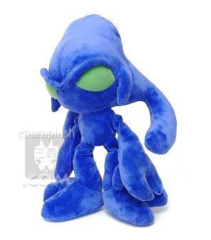 Sonic Chaos Zero Plush Front by kaijumama