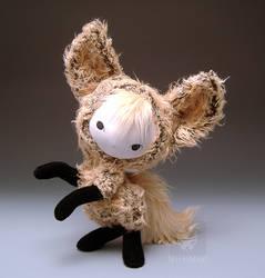 Toko Kitsune Fox Plush Doll by kaijumama