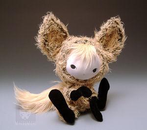 Kitsune Fox Plush Doll 2nd Pic by kaijumama
