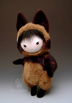Tanuki Raccoon Dog Plush Doll