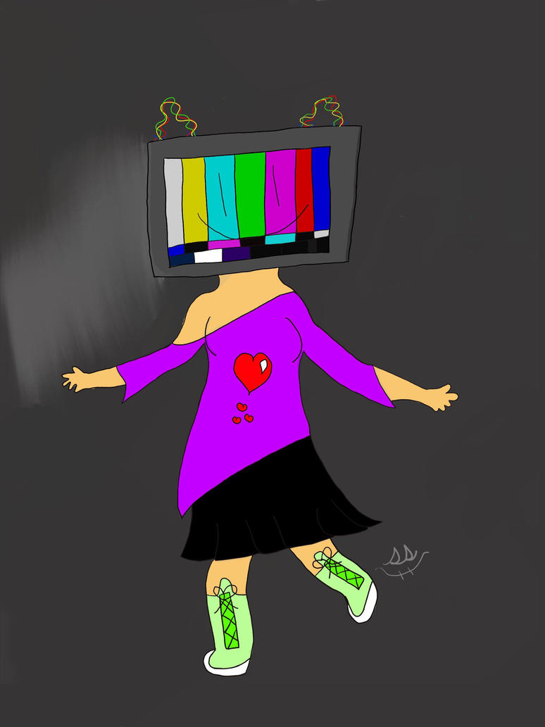 TV girl  by SimpleSketchy