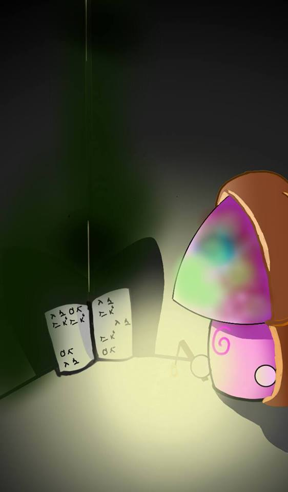 PVZ2 simple doodle 7: Hypno-shroom mystic by NgTTh
