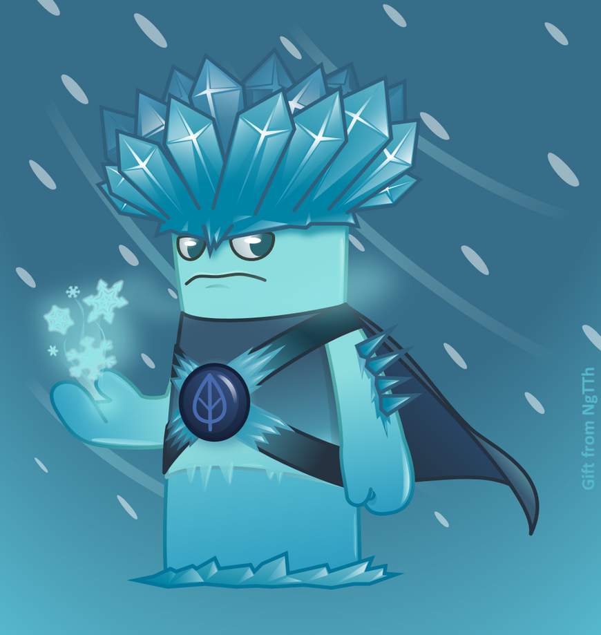 Heroic Ice-shroom - Pvz fanmade by NgTTh