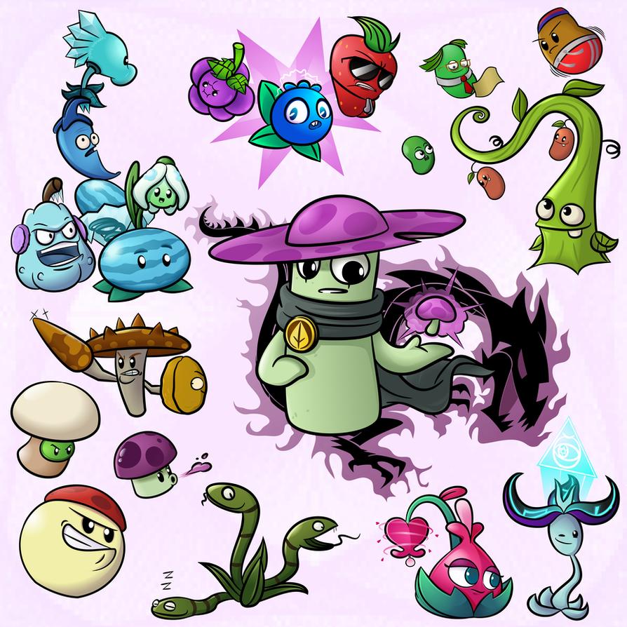 Pvz stuff2: Nightcap Strategy by NgTTh