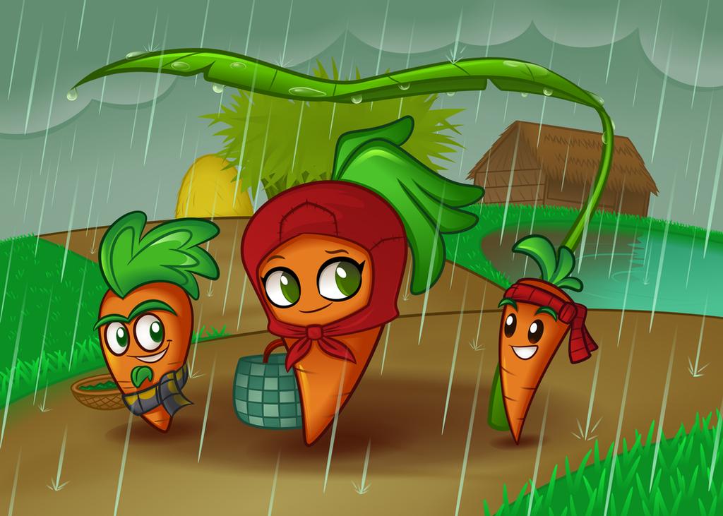 PVZ HEROES FANART [RainingMarket] by NgTTh
