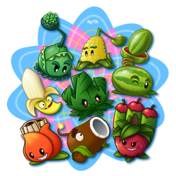 Pvz Arma-mint family by NgTTh