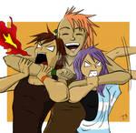 Group hug! by leara07