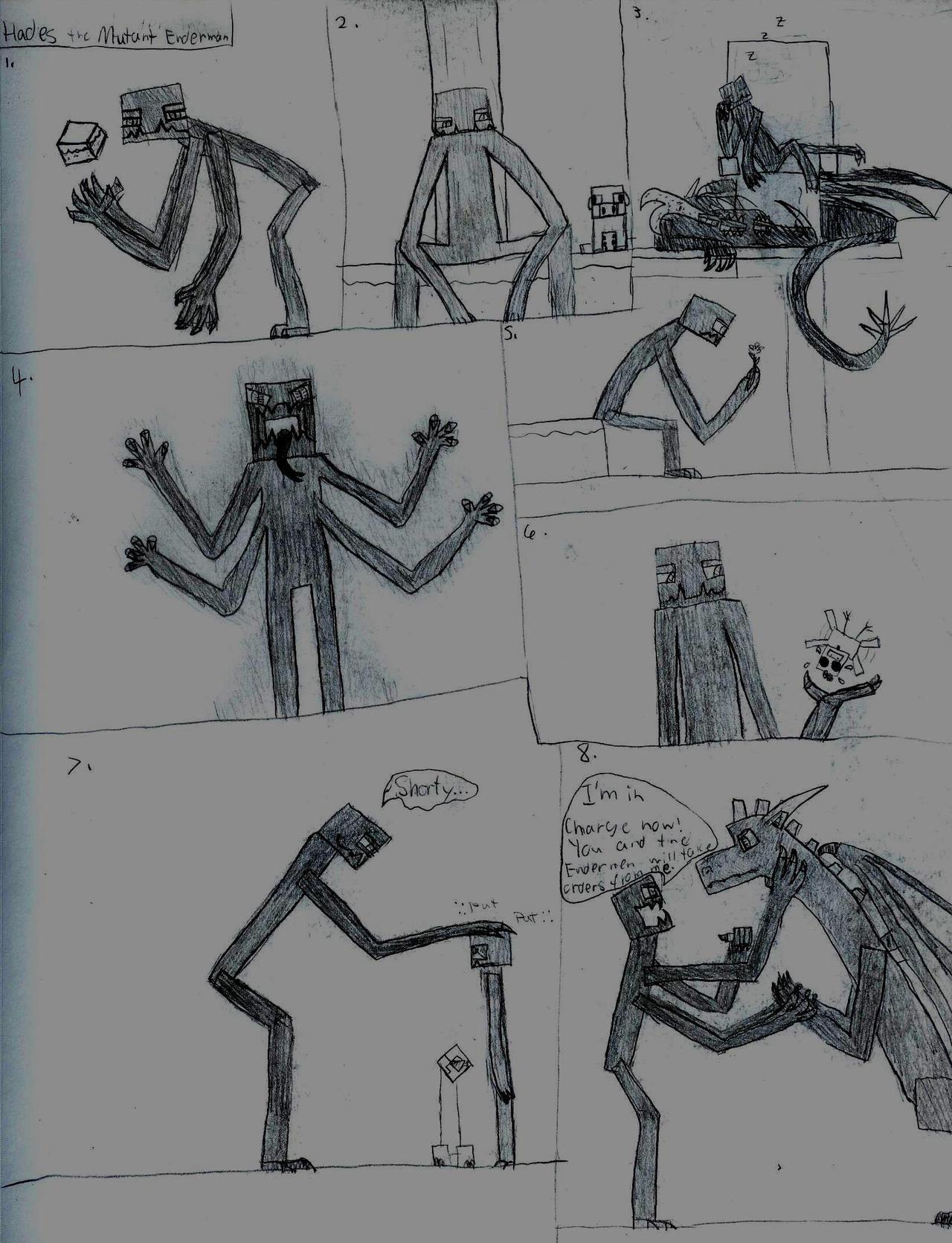 Hades the Mutant Enderman by DragonDollRAWR on DeviantArt