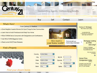 Real Estate Website by saramg