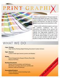 Print Company Flyer