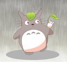 Totoro by littlecutiechibi