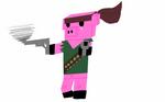 Commando pig