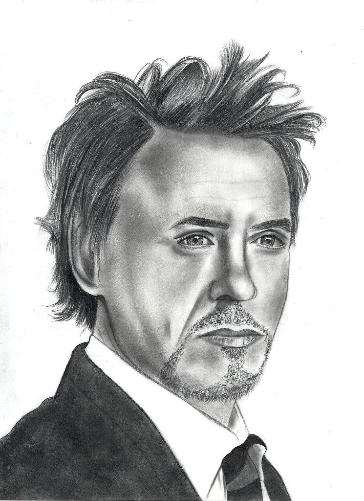 Robert Downey Jr. by UnexpectedFantasy