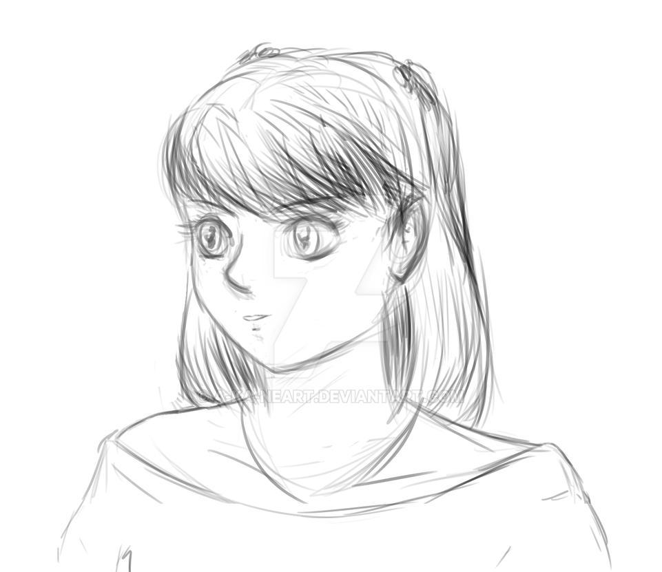 CyberBlue sketch by a-ka-neArt