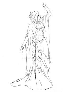 OC Dark Outfit Concept - Reya