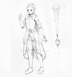 OC Armor Concept - Reya