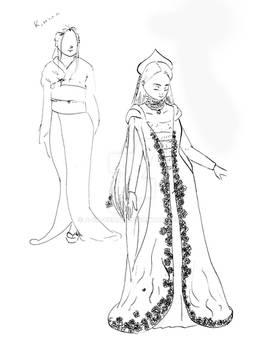 OC Dark Outfit Alternative Concepts - Reya