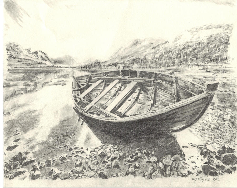 Pencil Drawings: Pencil Drawings Boats