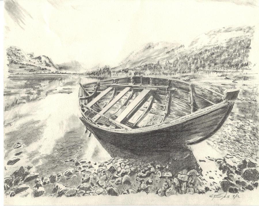 Pencil Drawings: Pencil Drawings Boats