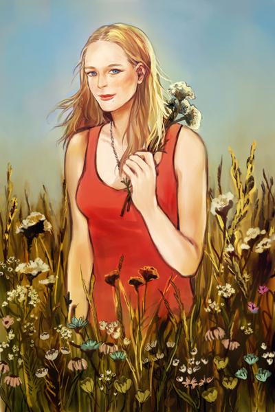 bright field (Comission) by roxaroni