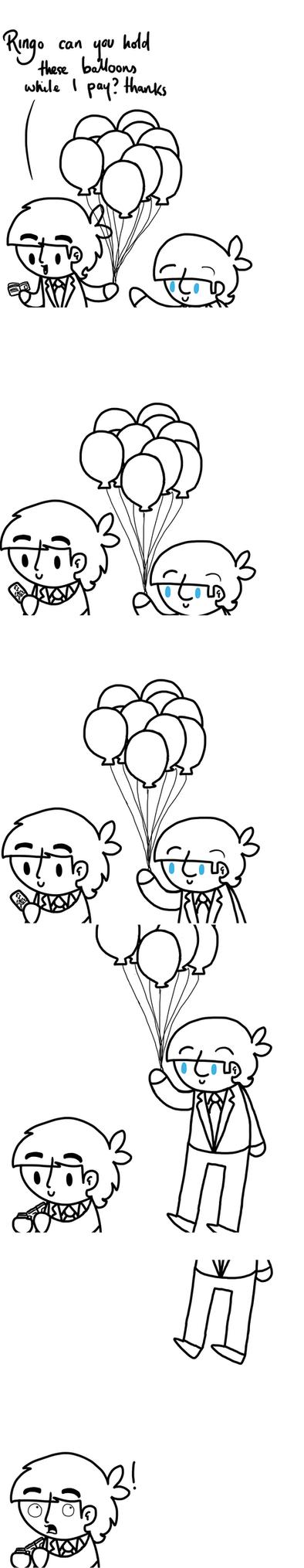 Balloons by ChazzyLlama