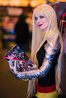 Magik at the Comic Book Store by amberbrite